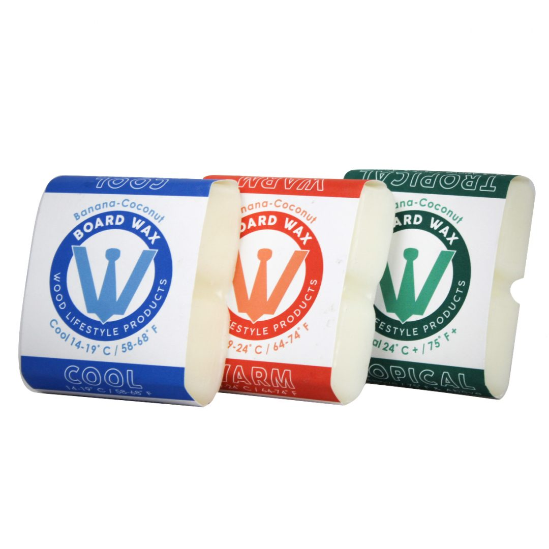 Wood Lifestyle Products | Surfboard Wax | Tropical
